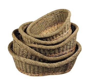 Wicker Dog Basket 59cm